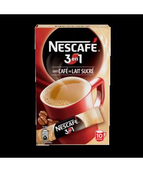 Café Nescafé 3 en 1 sticks