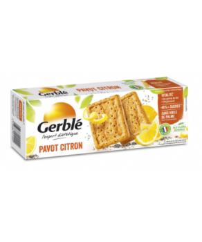 Biscuits Gerblé Pavot citron
