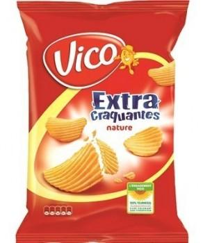 Chips Ondulées Nature Vico