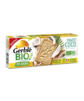 Sablé Pavot Coco Gerblé