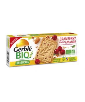 Sablé Amande Cranberry Gerblé
