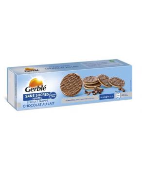 Biscuit nappé au chocolat...