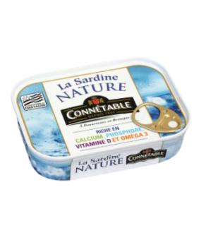Sardines Nature Connétable