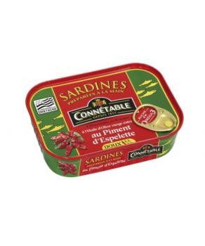 Sardines au Piment d'Espelette