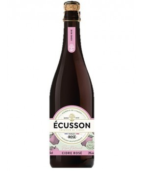 Cidre Rosé Ecusson