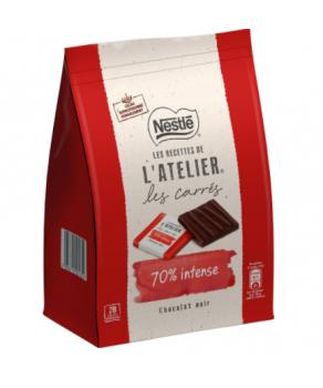 Chocolat noir carrés Nestlé