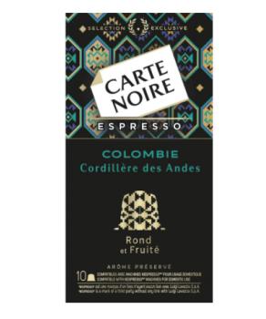 Capsules Colombie n°6 Carte...