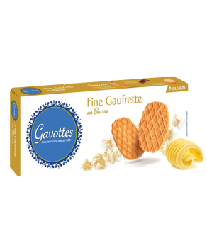 Fine Gaufrette au beurre