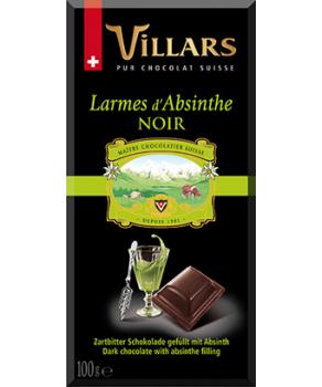 Chocolat larmes d'absinthe