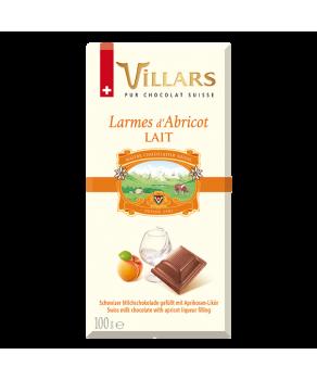 Chocolat Villars Abricotine