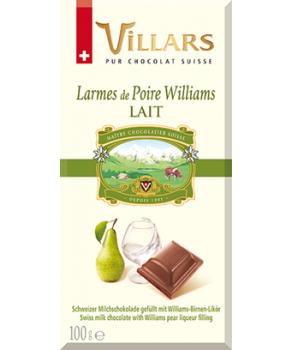 Chocolat Poire Williams