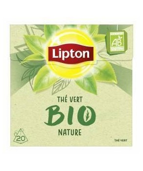 Thé vert bio Lipton