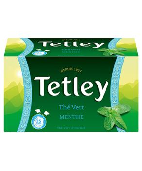 Tetley Thé Vert Menthe
