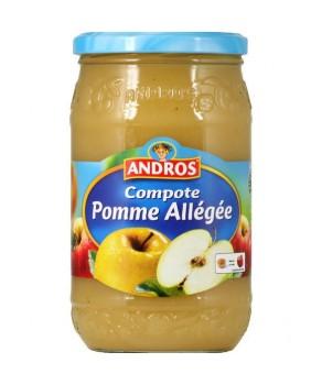 Compote pomme alégée Andros