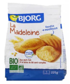Madeleines Biologiques Bjorg