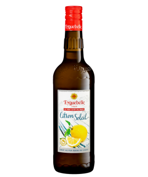 Sirop Eyguebelle Citron Soleil sucre de canne