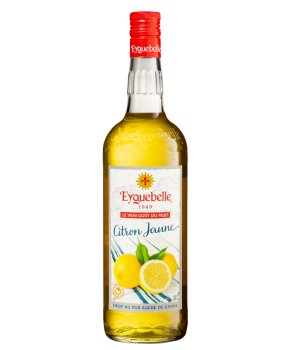 Sirop Eyguebelle Citron jaune sucre de canne