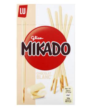 Mikado biscuits au chocolat...