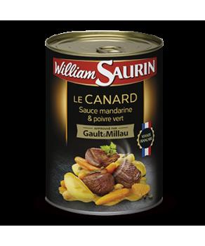 Canard sauce Mandarine