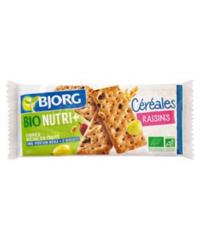 Biscuits Céréales Raisins...