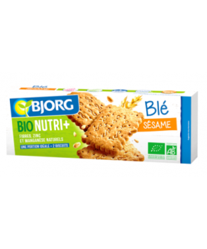 Biscuits sésame bio Bjorg