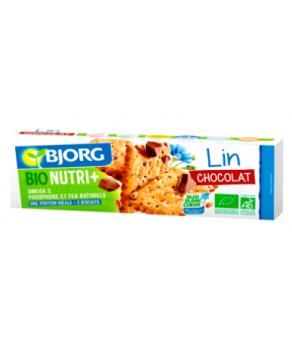 Biscuits au lin pépites de chocolat bio