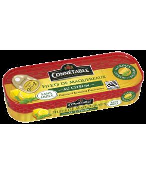 Filets de maquereaux citron basilic