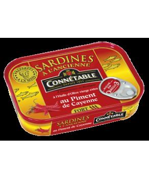 Connétable Sardines au Piment De Cayenne