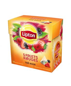 Thé 5 fruits Rouges