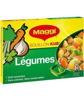Bouillon Kub légumes
