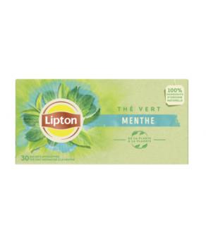 Thé vert Menthe Lipton