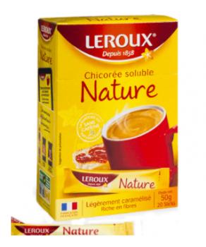 Chicorée soluble Leroux Sticks