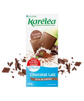 Chocolat Lait Karéléa
