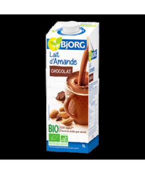 Boisson bio saveur amande et chocolat
