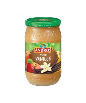 Compote Pomme Vanille Andros