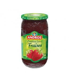 Confiture aux fraises Andros