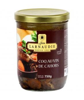 Coq au vin Larnaudie
