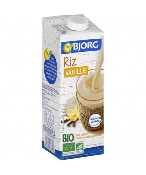 Boisson riz saveur vanille bio