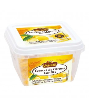 Ecorces de citrons confits