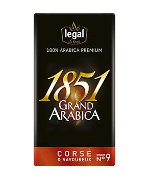 1851 Grand Arabica Moulu Corsé