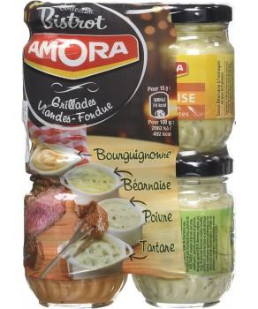 Lot de sauces Bistrot Amora