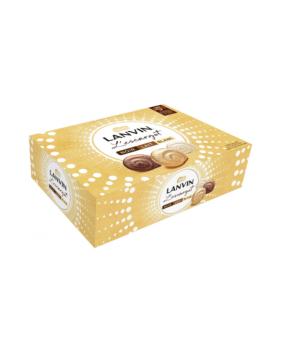Chocolats Escargot Lanvin Lait & Noir & Blanc