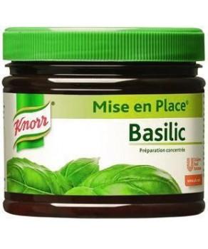 Préparation Basilic Knorr