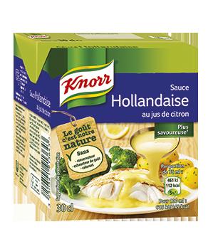 Sauce hollandaise au jus de...