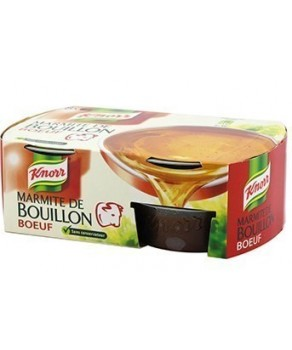 Marmite Bouillon Knorr Boeuf