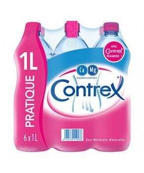 Eau Contrex 6X1 litre