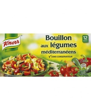 Bouillon aux légumes...