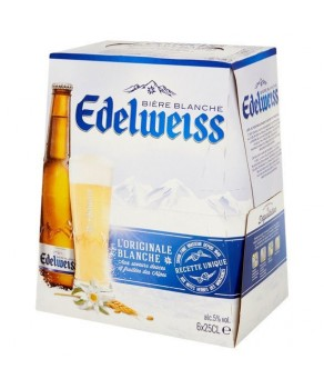 Bières Blanche Edelweiss