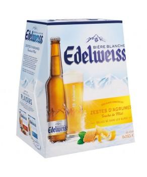 Bières Edelweiss Agrumes Miel