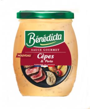 Bénédicta Sauce Cèpes et Porto